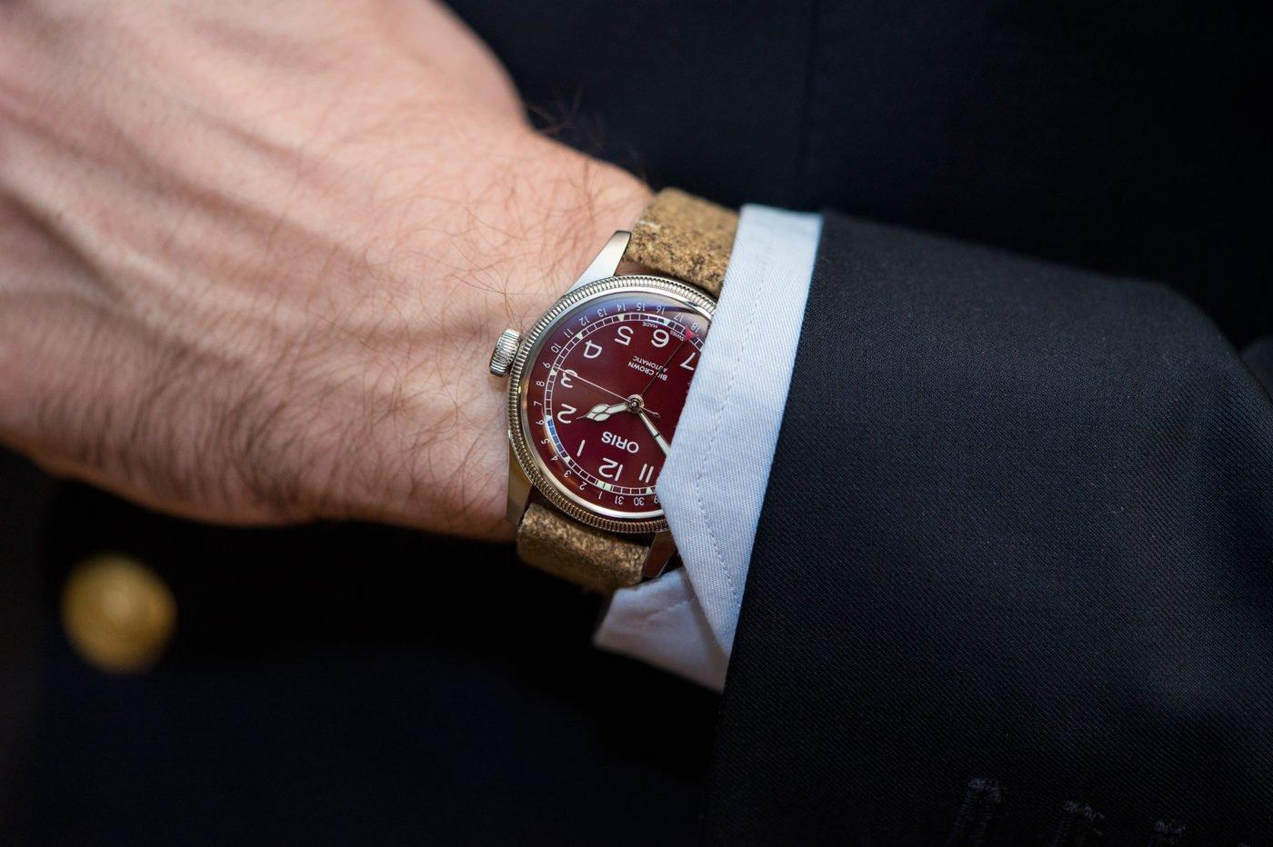 Oris Big Crown Pointer Date z czerwoną tarczą – Basel 2019 [zdjęcia live, cena]