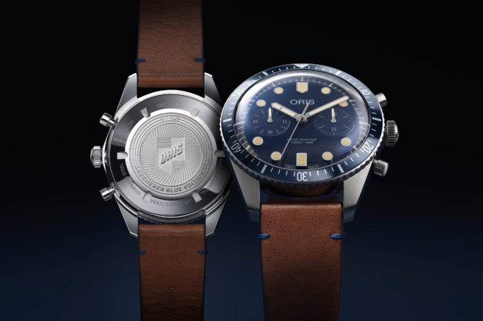 Oris Divers Sixty-Five Chronograph Bucherer Blue
