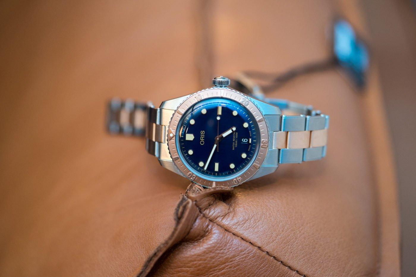 Oris Divers Sixty-Five bi-color
