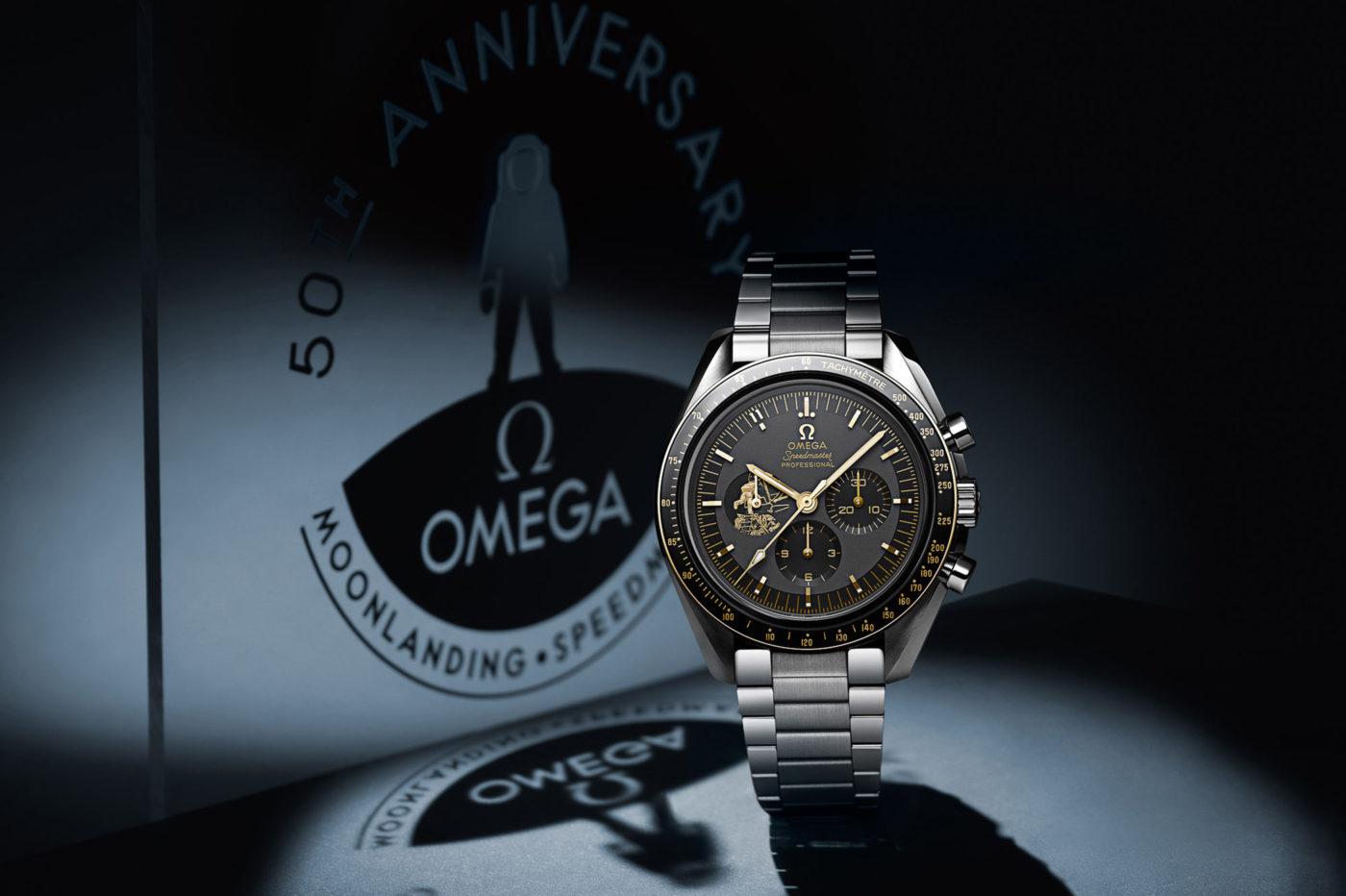 Omega Speedmaster Apollo 11 50th Anniversary – limitowana edycja w stali i złocie [cena]