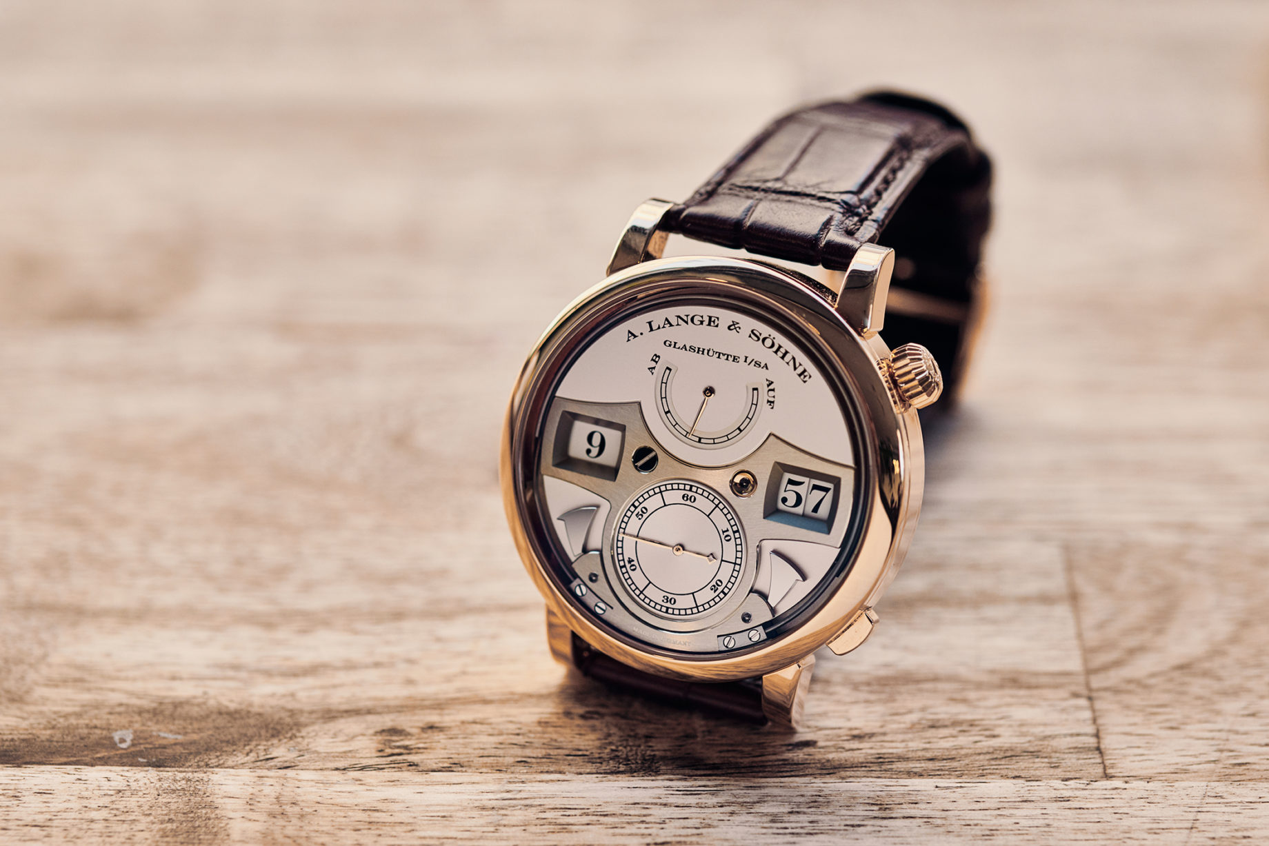 A. Lange & Söhne Zeitwerk Striking Time