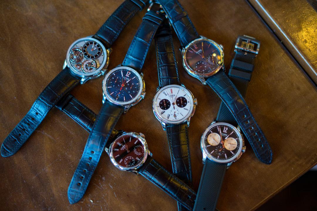 Jak powstają zegarki Czapek?