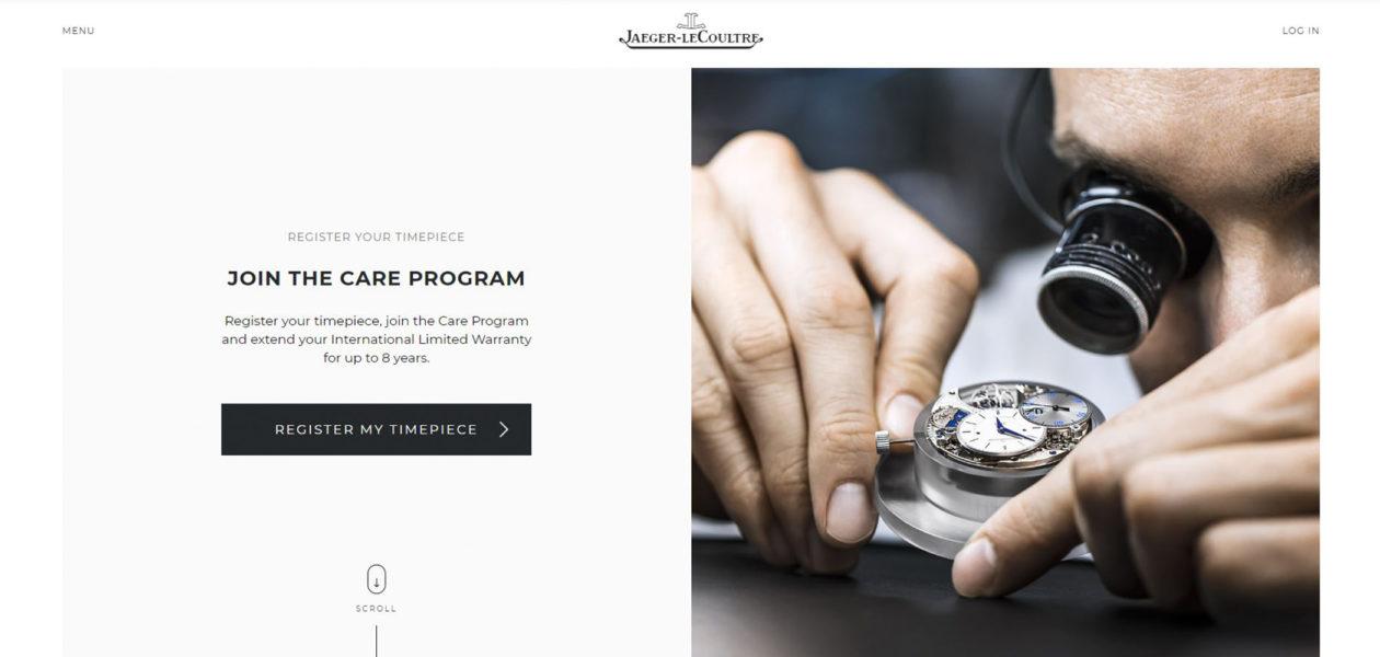 Jaeger‑LeCoultre Care Program