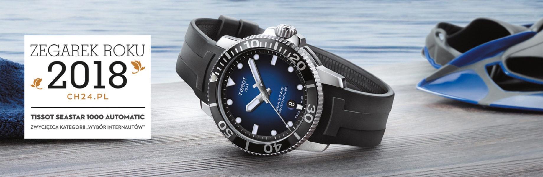 Wygraj zegarek Tissot Seastar 1000 - konkurs