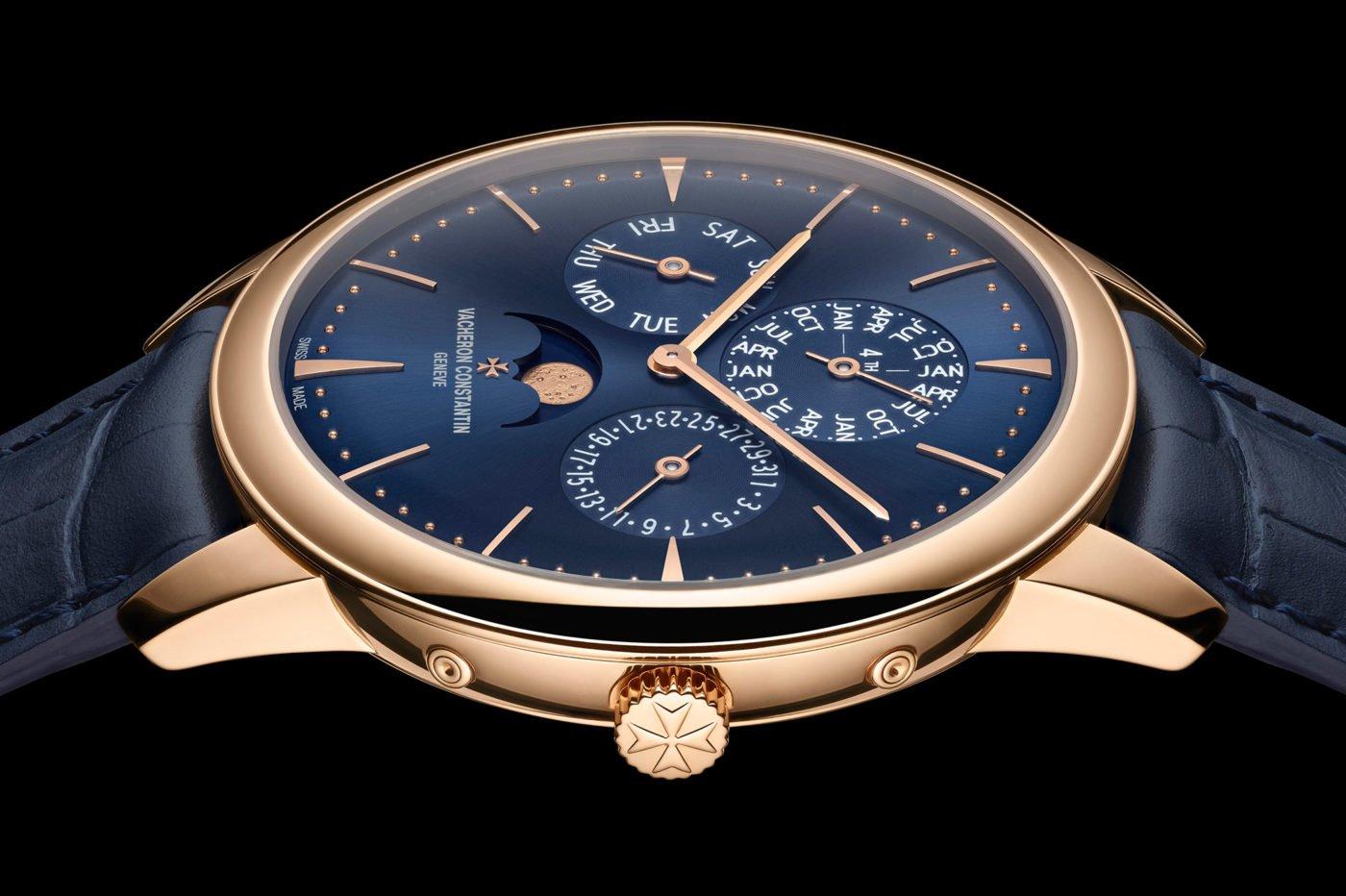 Vacheron Constantin Patrimony Perpetual Calendar Ultra-Thin na niebiesko [dostępność, cena]