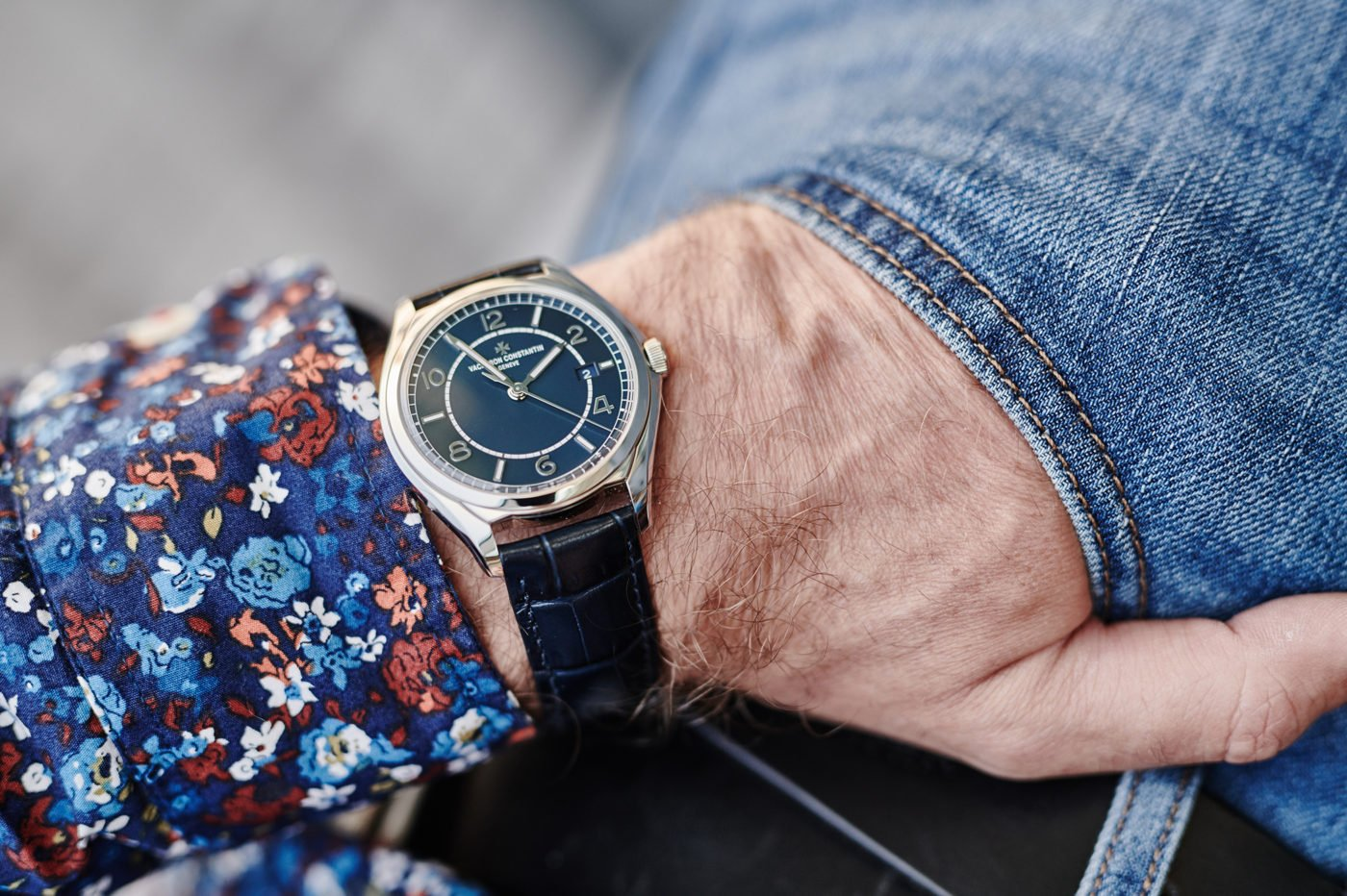 """Hands-On"" Vacheron Constantin Fiftysix Self-Winding Petrol Blue [zdjęcia live, cena]"