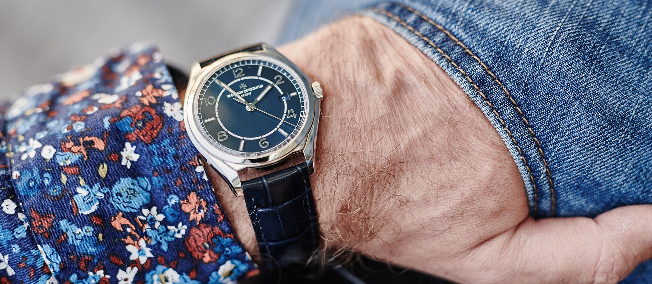 Vacheron Constantin Fiftysix Self-Winding Petrol Blue