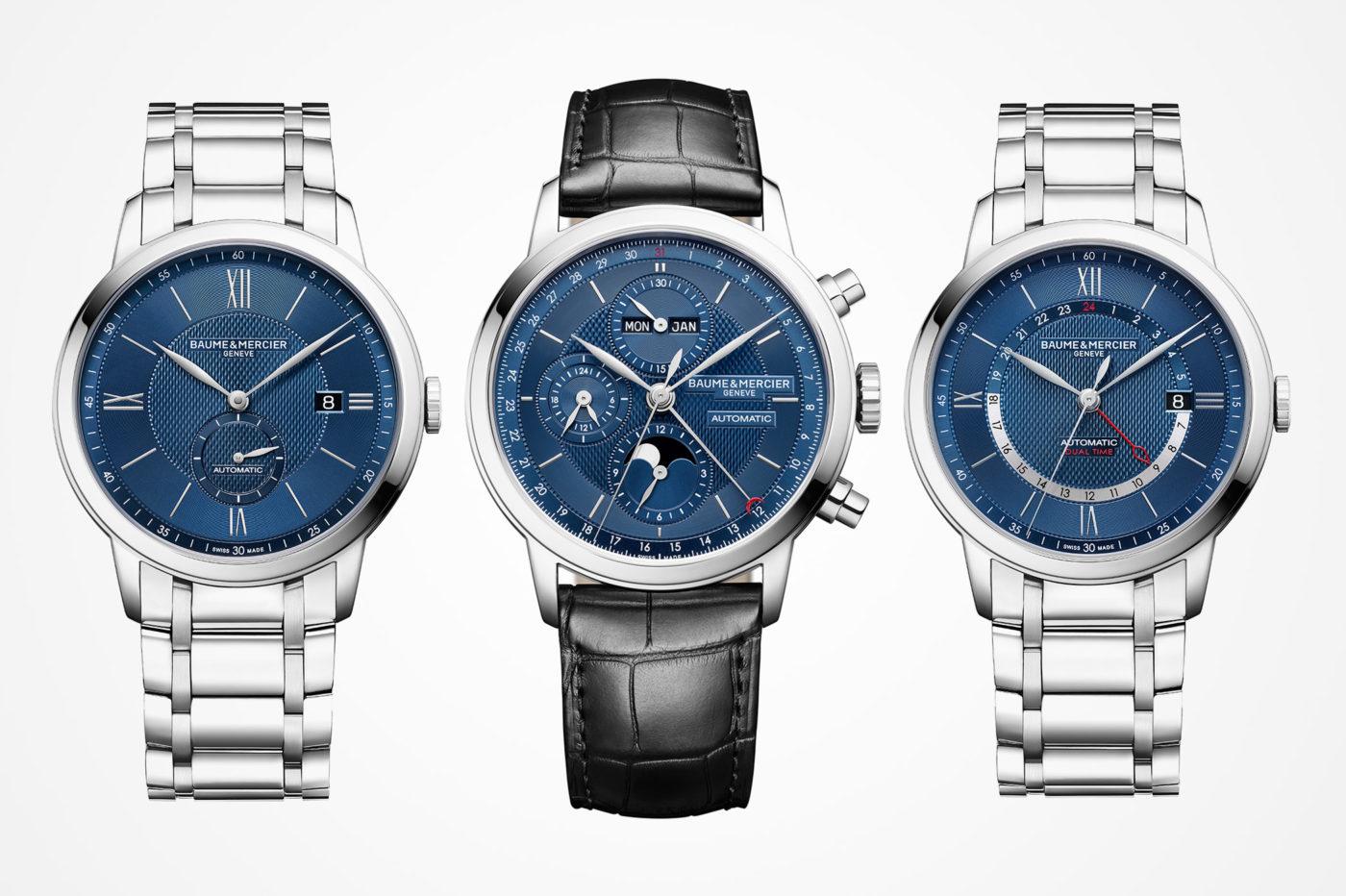 Baume & Mercier – linia Classima z trzema nowymi modelami [cena]