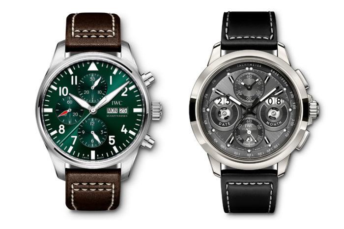 Dwa nowe modele IWC Schaffhausen