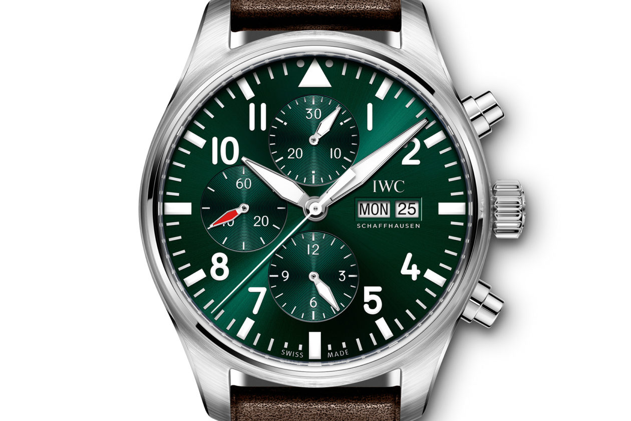 IWC Pilot's Watch Chronograph Edition Racing Green
