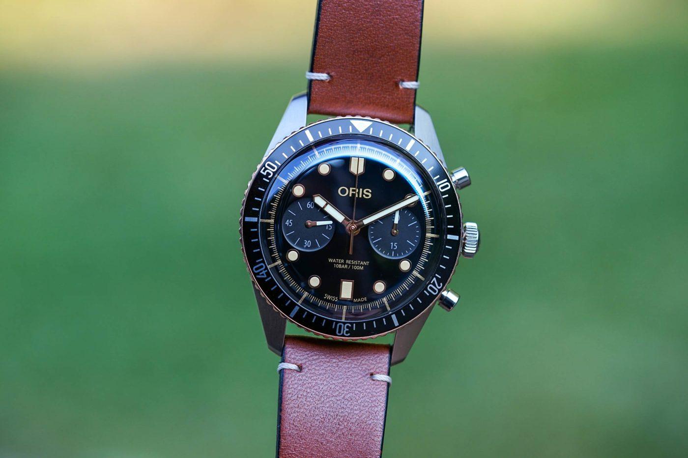 Recenzja Oris Divers Sixty-Five Chronograph [zdjęcia live, cena]