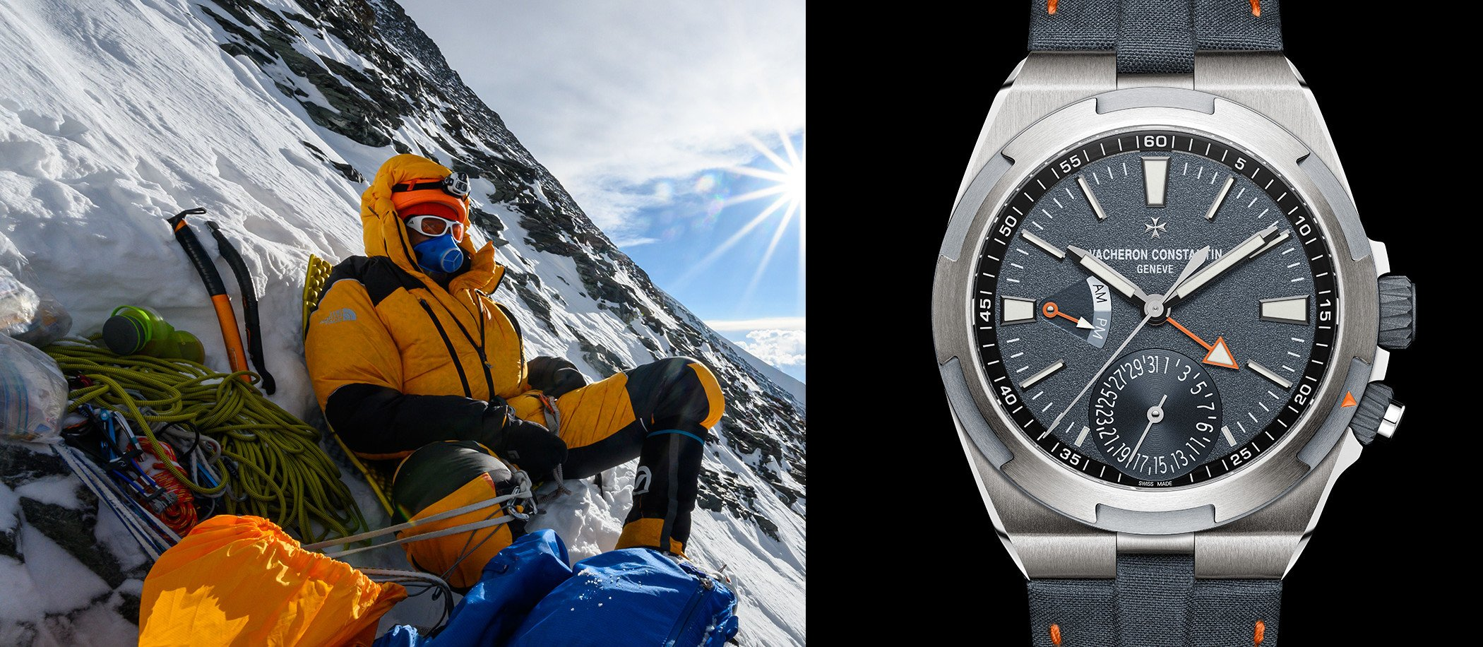 Vacheron Constantin i Cory Richards na Mount Everest