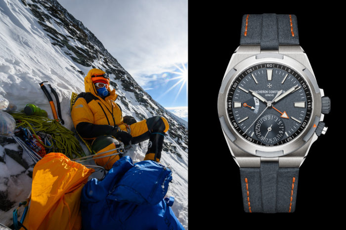 Vacheron Constantin i Cory Richards na Mount Everest