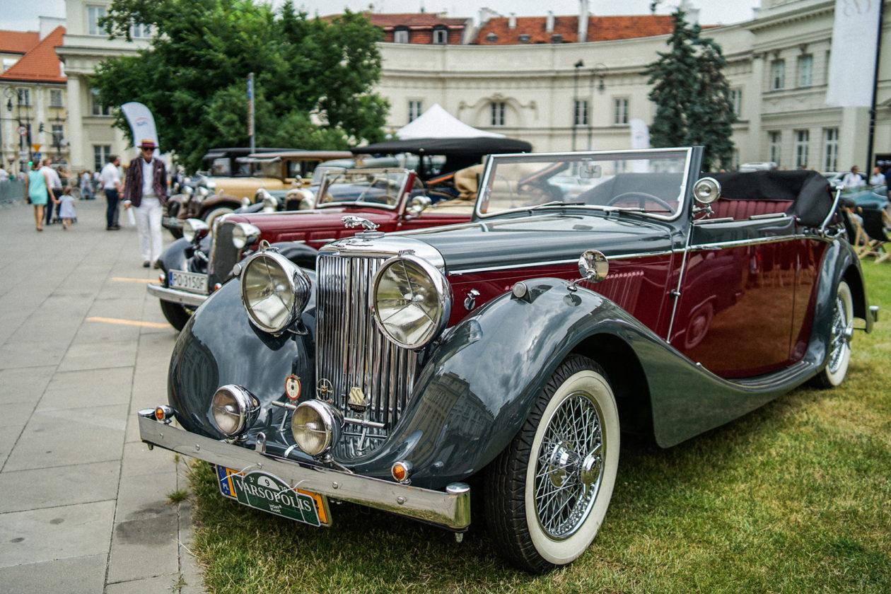 Varsopolis 2019 - Jaguar Mark IV 1949