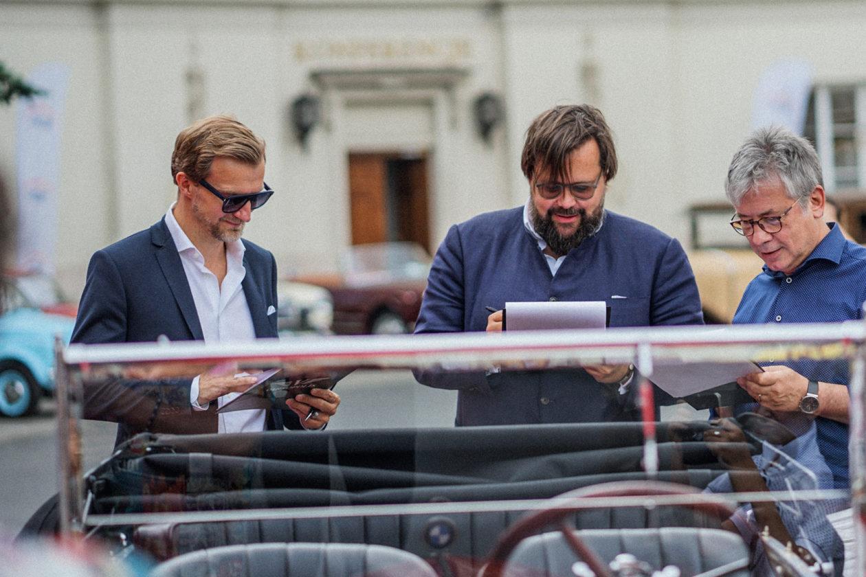 Varsopolis 2019: Philip Schmidtgen - Montblanc (po lewej) i Johann Philip Rathgen - Classicdriver (w środku)