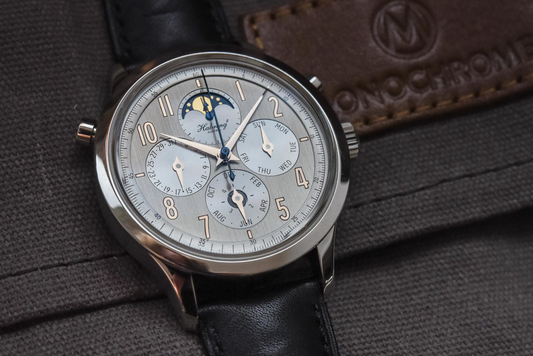 Habring² Perpetual-Doppel / foto: Monochrome-watches.com