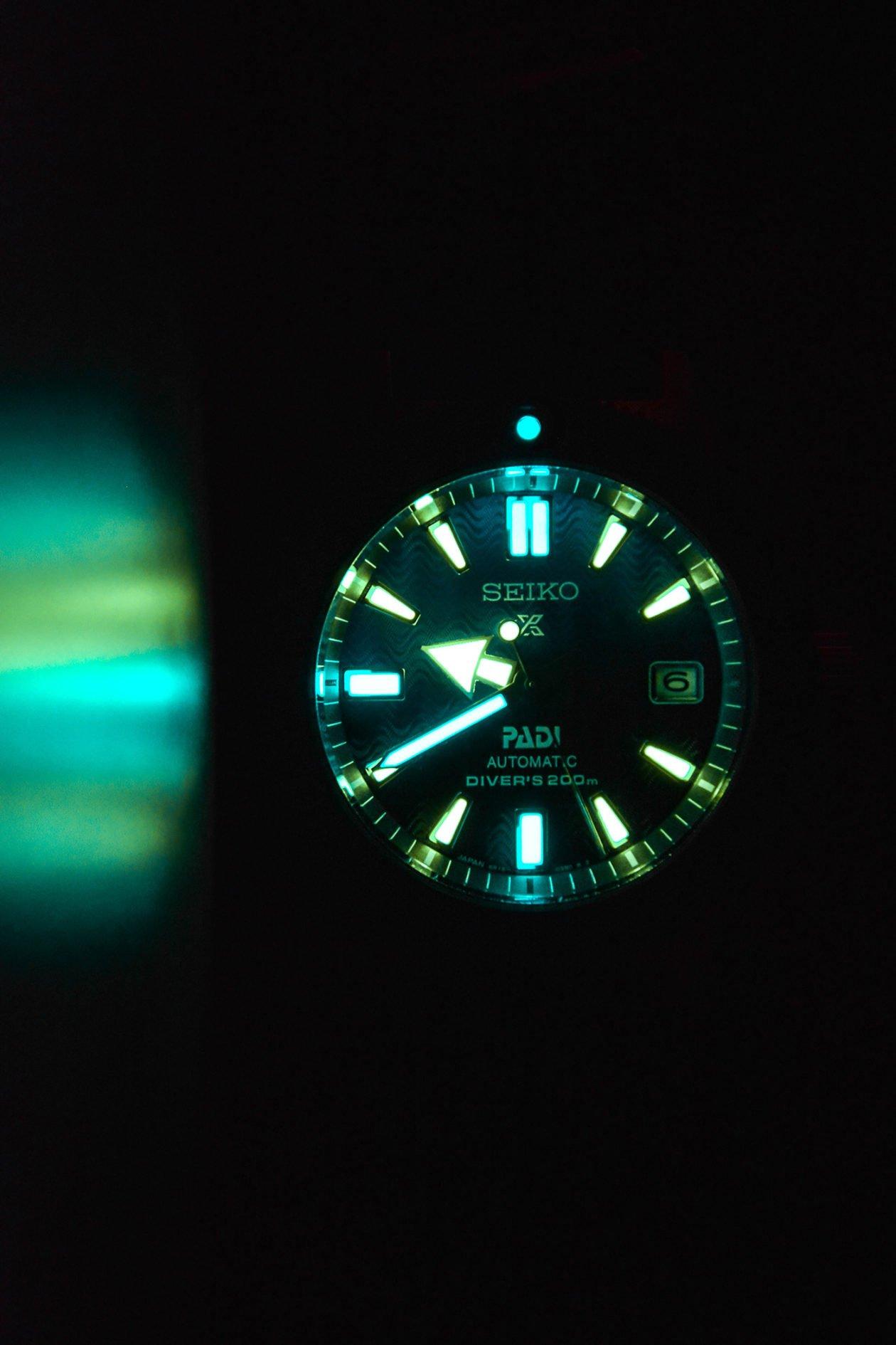 Seiko Prospex Diver Automatic PADI Special Edition SPB071J1