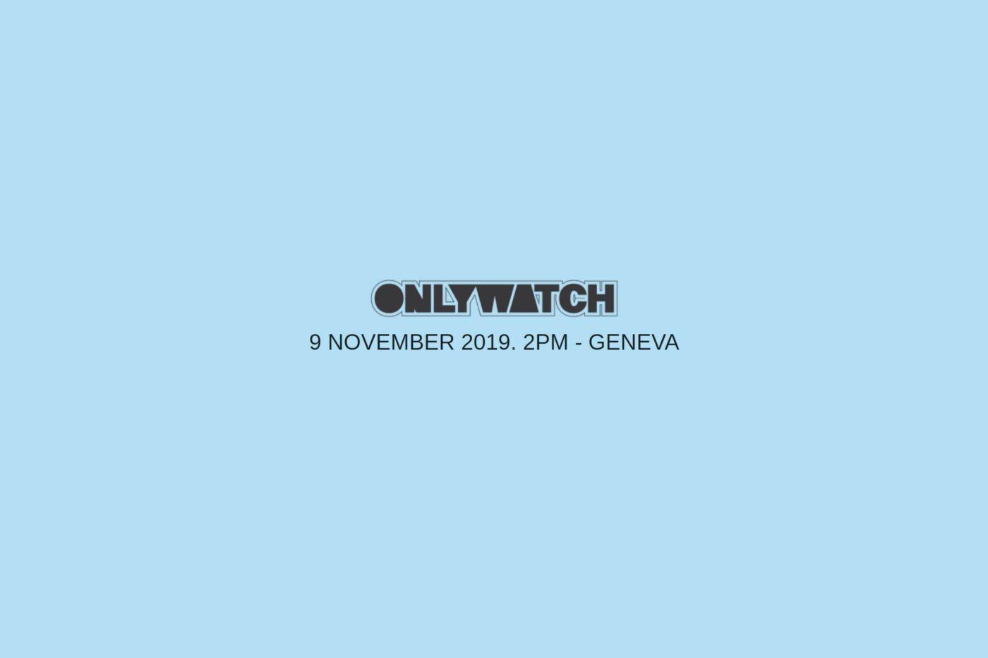 ONLY WATCH 2019 z 52 markami