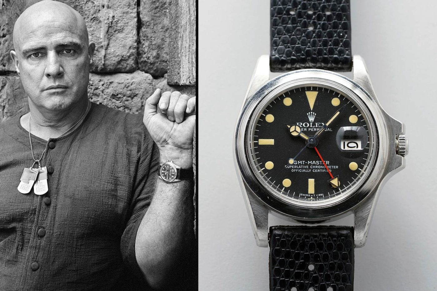 Aukcje Rolex GMT-Master Marlona Brando na aukcji domu Phillips