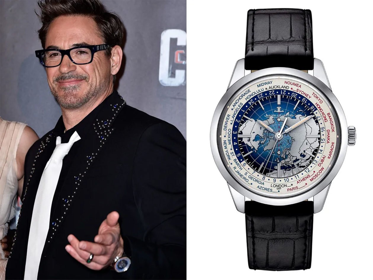 Robert Downey Jr. i Jaeger-LeCoultre / foto: ethoswatches.com