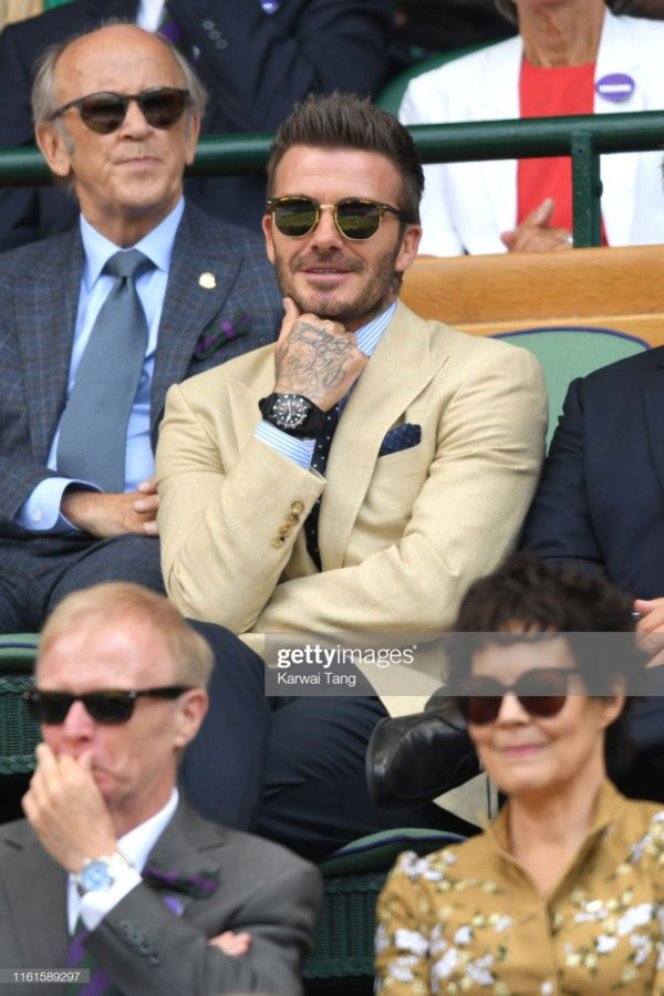 David Beckham i Tudor Black Bay Dark / foto: gettyimages.com