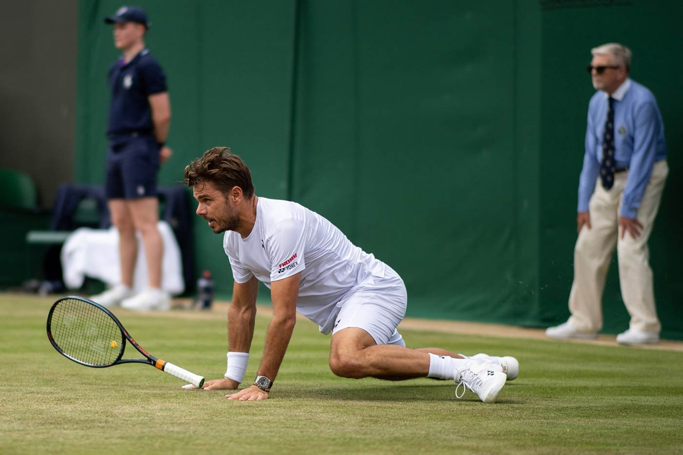 Stan Wawrinka i Audemars Piguet Royal Oak Chronograph