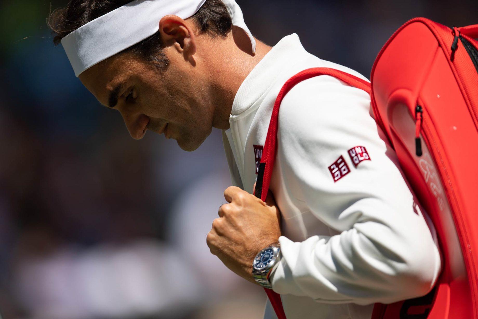Roger Federer i Rolex Sky-Dweller
