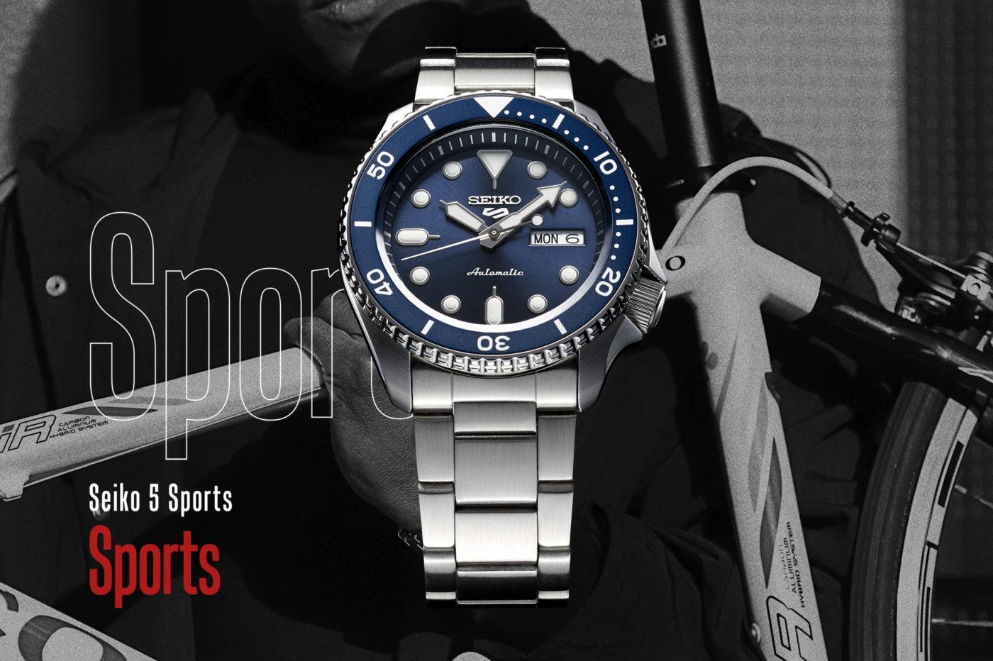 Seiko 5 Sports w nowym wydaniu [dostępność, cena]