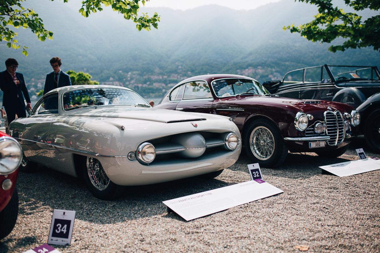 od lewej: Abarth 205 Sport 1100 (1953) i Maserati A6G/2000 (1952)