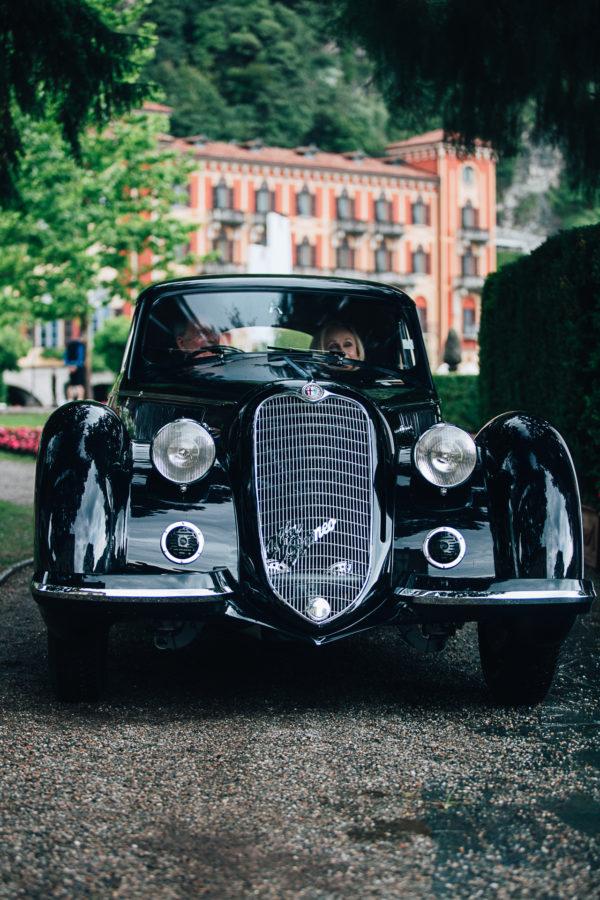 Alfa Romeo 8C2900B Berlinetta Touring z 1937 roku