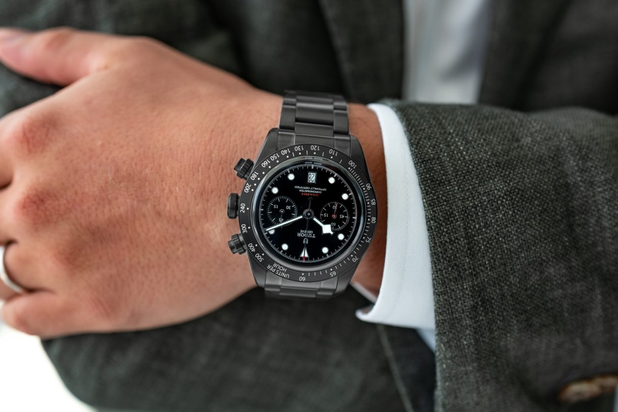 Tudor Black Bay Chrono Dark / foto: Hodinkee.com