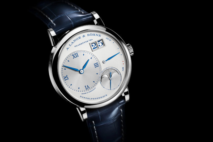 "A. Lange & Söhne Little Lange 1 Monn Phase ""25th Anniversary"""