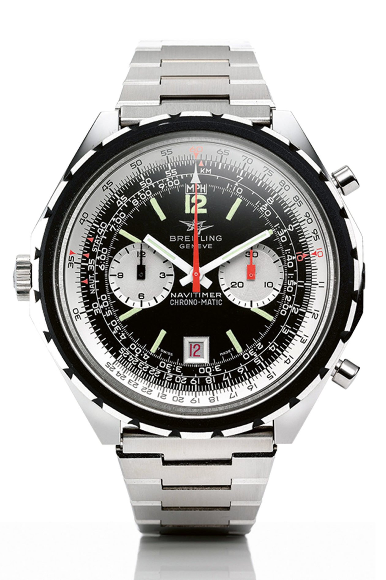 Breitling Navitimer Chrono-Matic_1969 / foto: Breitling The Book