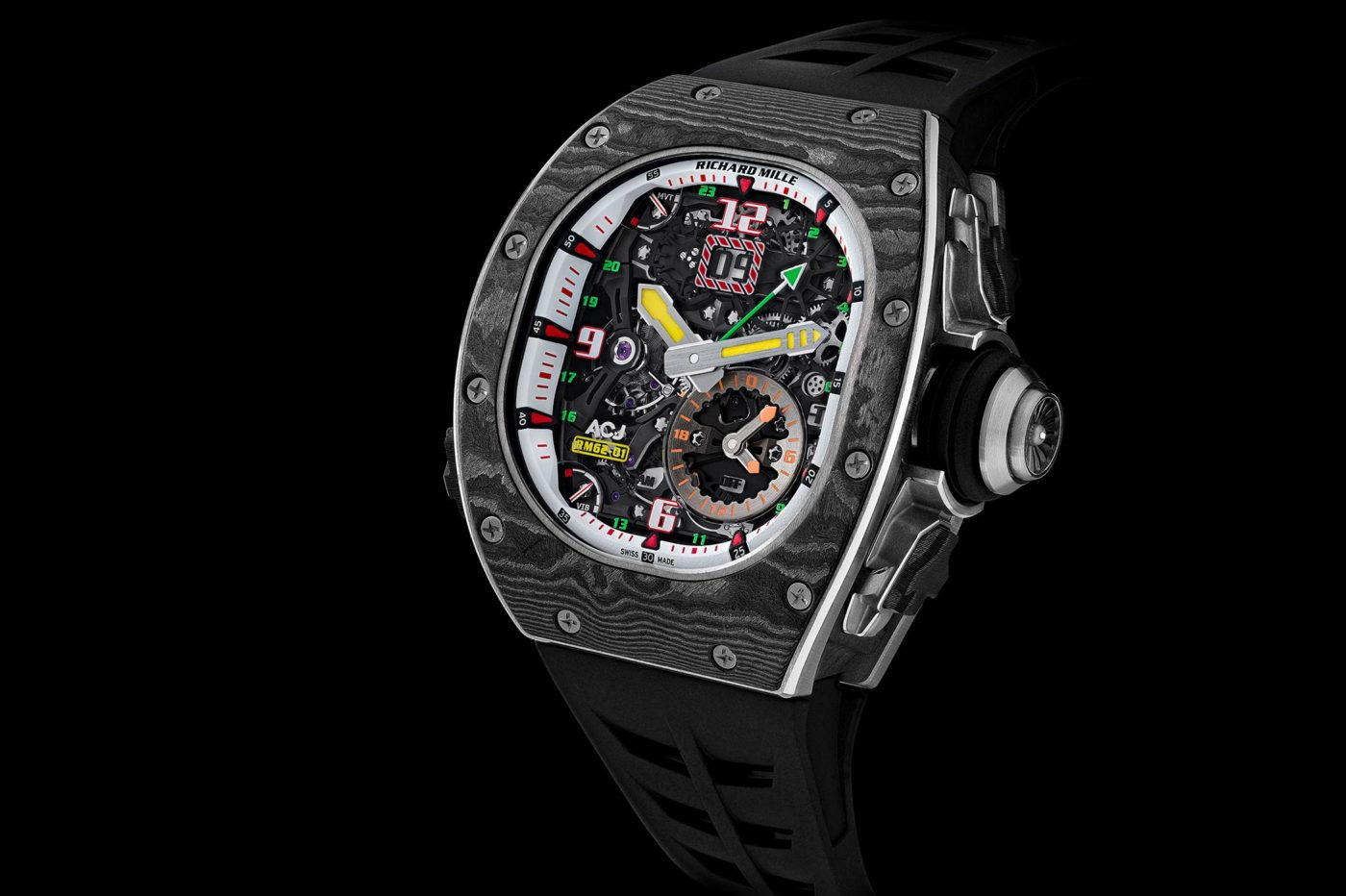 Richard Mille RM 62-01 Tourbillon Vibrating Alarm Airbus Corporate Jets [dostępność, cena]