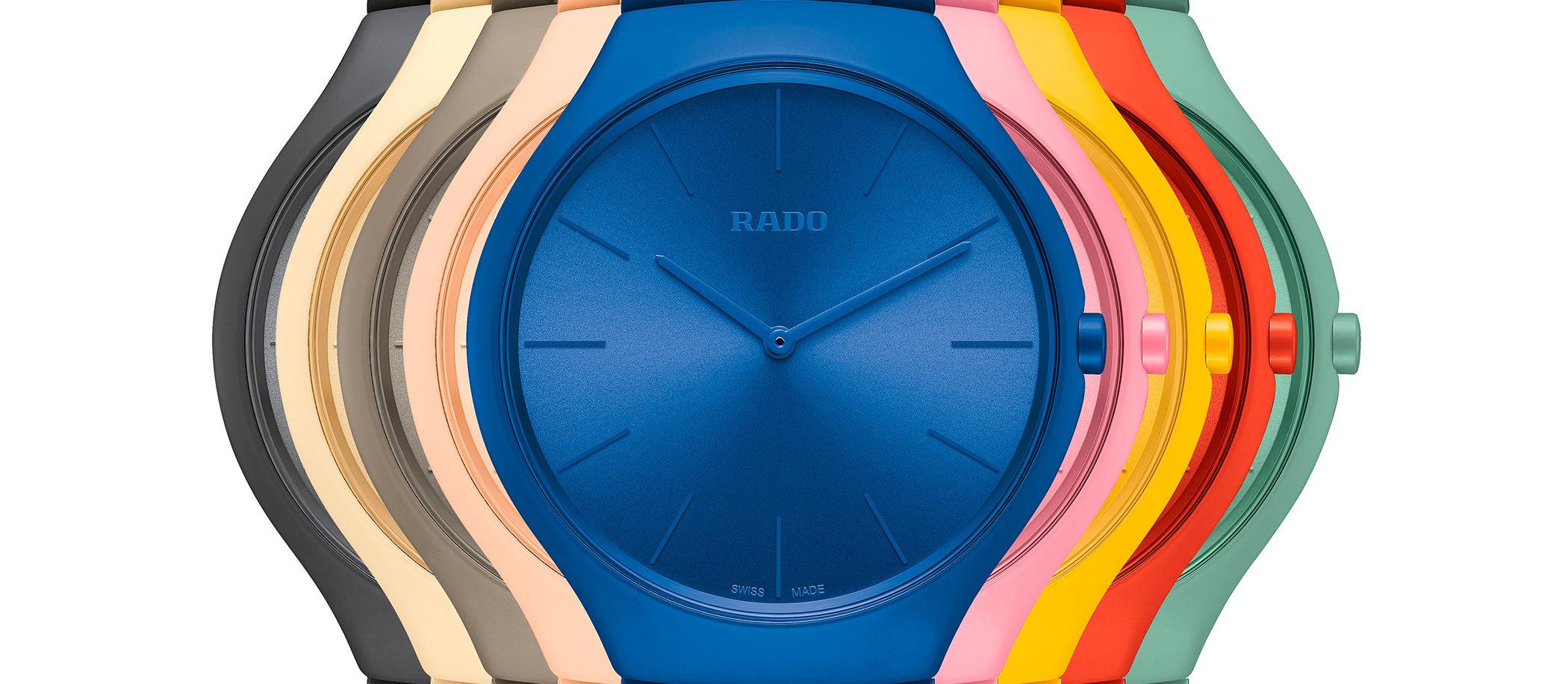 Rado True Thinline Les Couleurs Le Corbusier