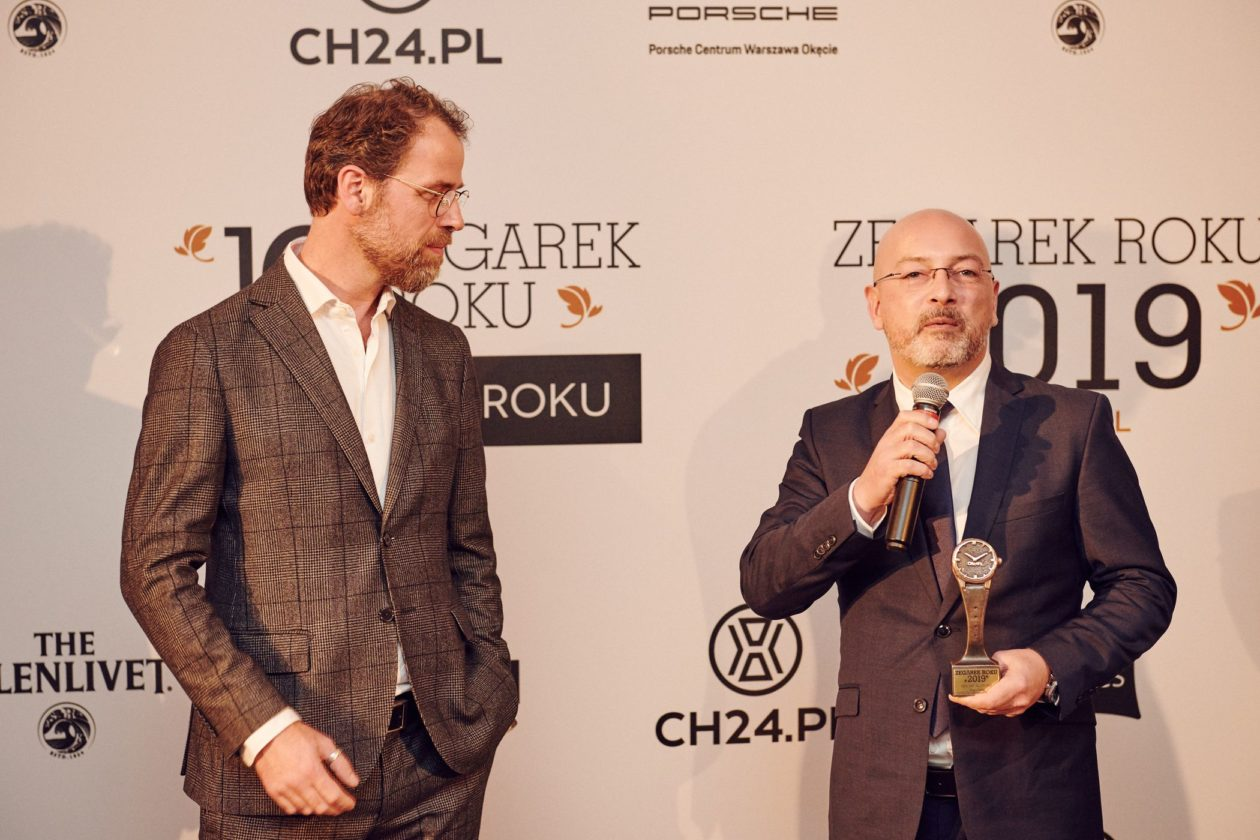 Frank Geelen (Monochrome-Watches) and Patricio Testart (Marketing & Sales Manager Seiko)