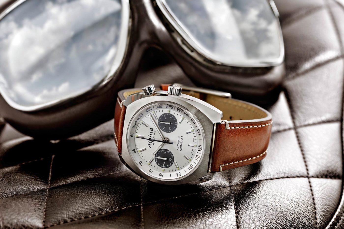 Alpina Startimer Pilot Heritage Chronograph [cena]