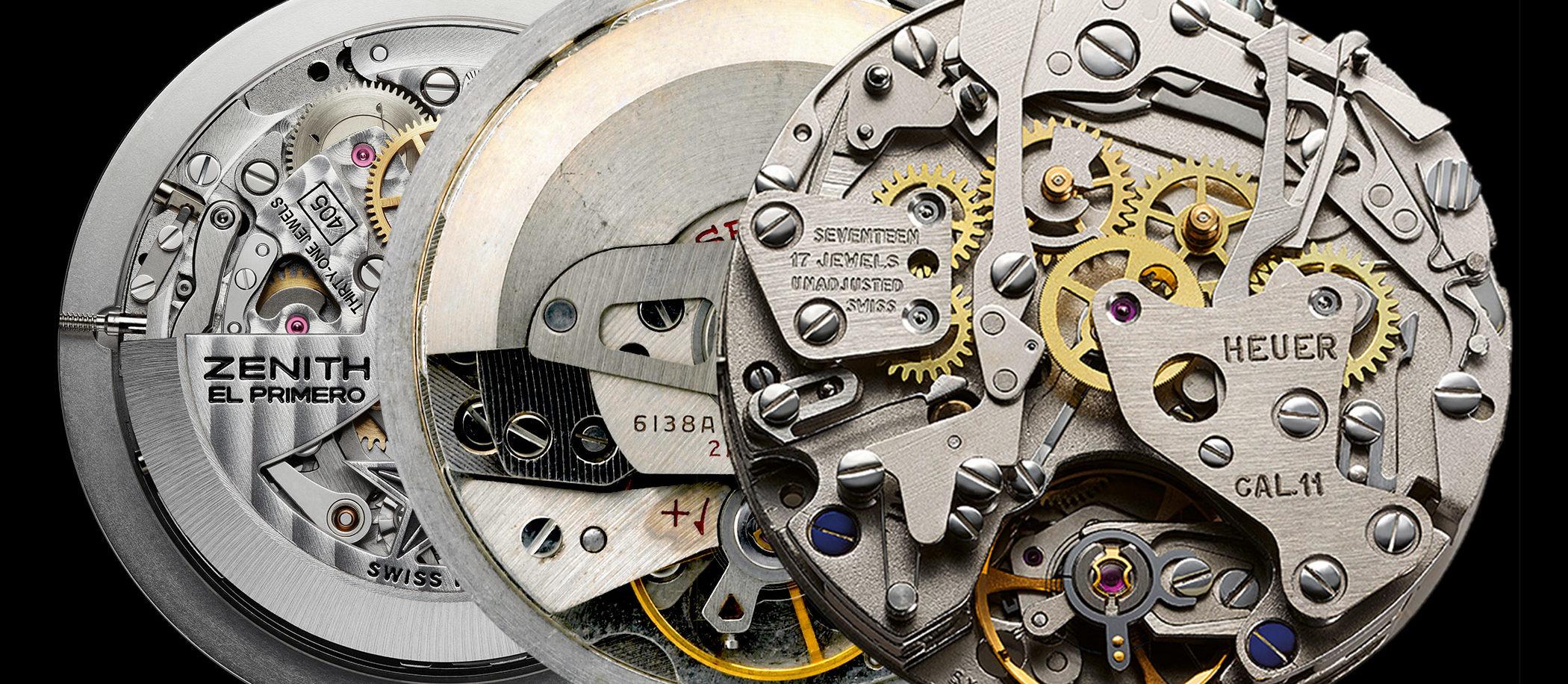 Historia pierwszego mechanizmu z automatycznym naciągiem i chronografem