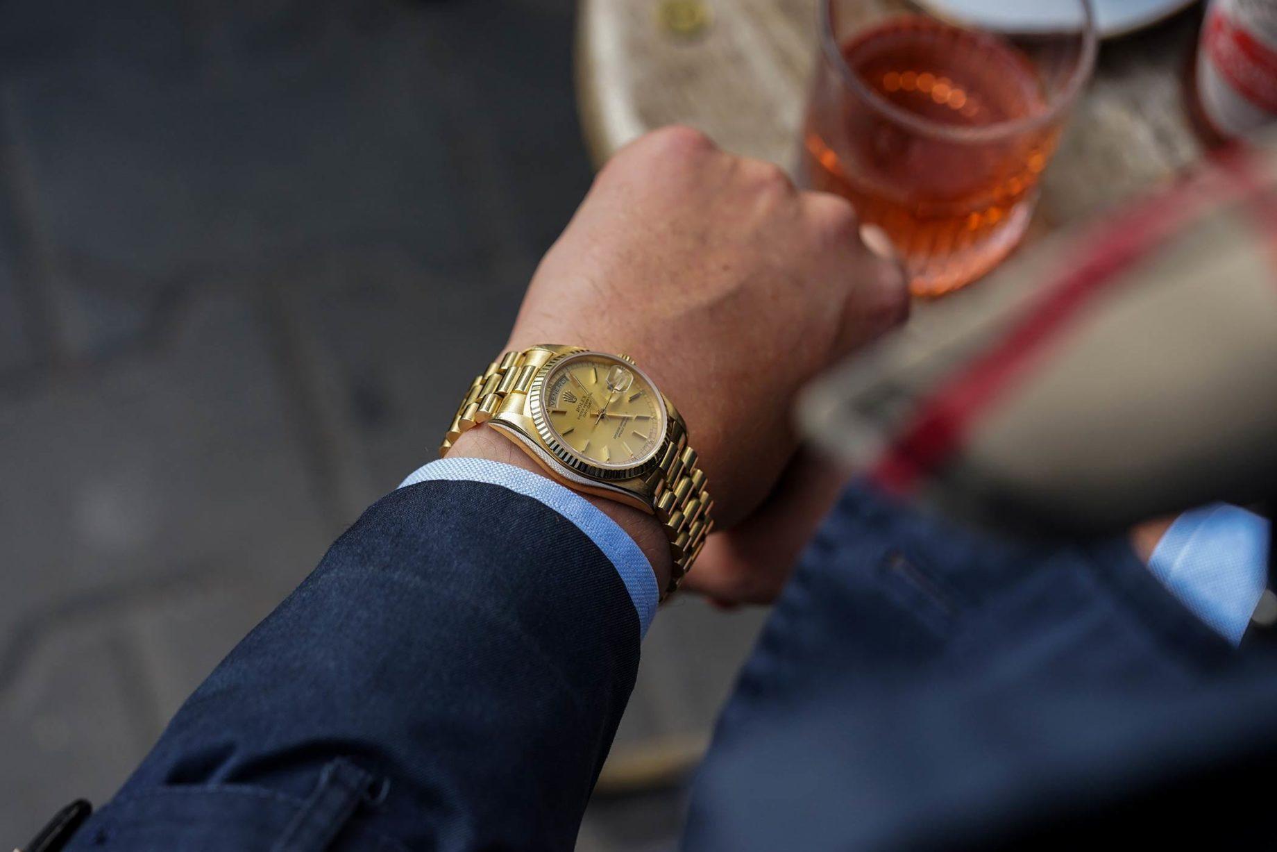 "Rolex Day-Date ""President"""