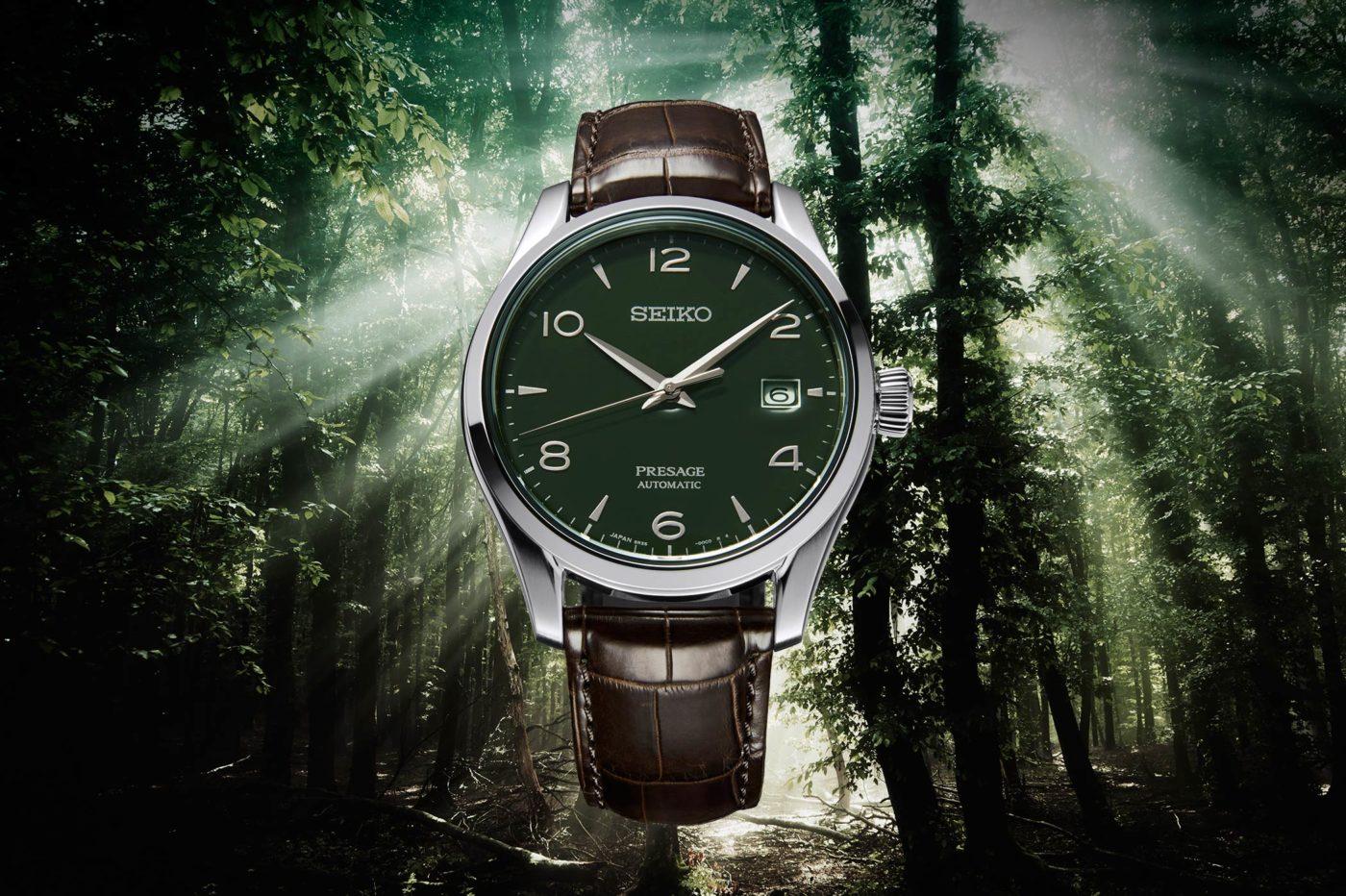 Seiko Presage Green Enamel Dial LE [dostępność, cena]
