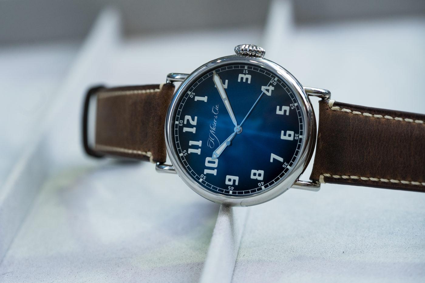H. Moser & Cie. Heritage Centre Seconds Funky Blue – DWW2019 [zdjęcia live, dostępność, cena]