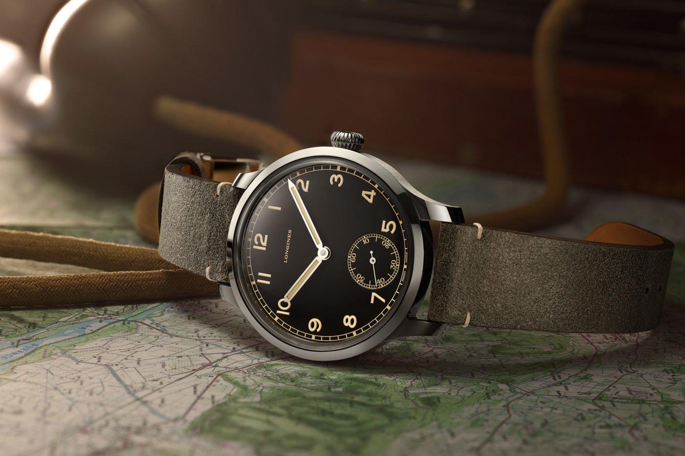 Longines Heritage Military 1938 [dostępność, cena]
