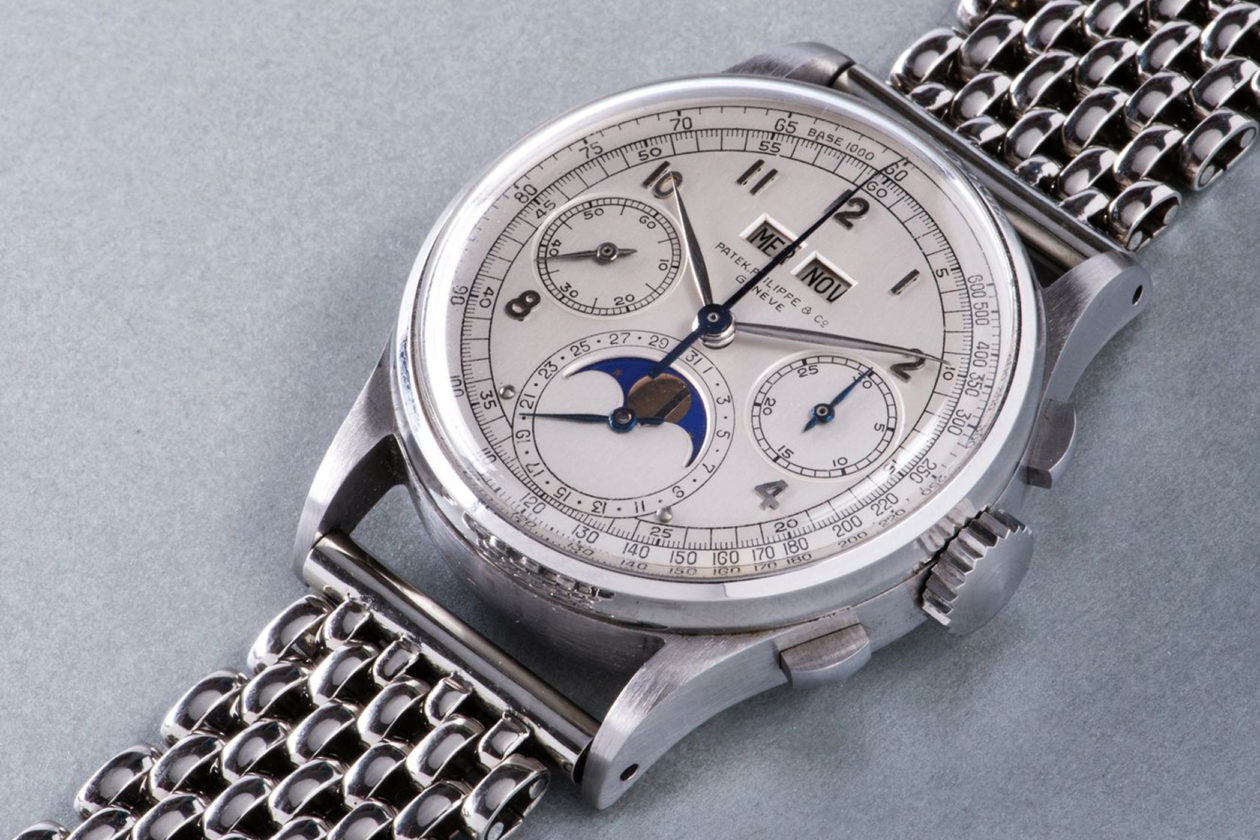 Patek Philippe ref. 1518 / photo: phillips.com