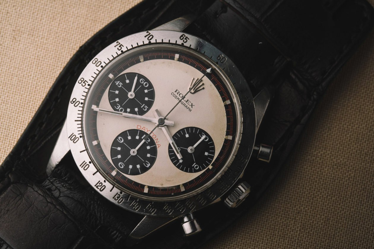 "Rolex Daytona ref. 6239 ""Paul Newman"" / photo: professionalwatches.com"