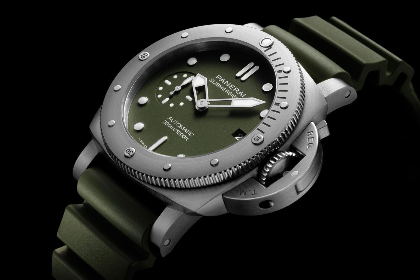Panerai Submersible Verde Militare 42mm [dostępność, cena]
