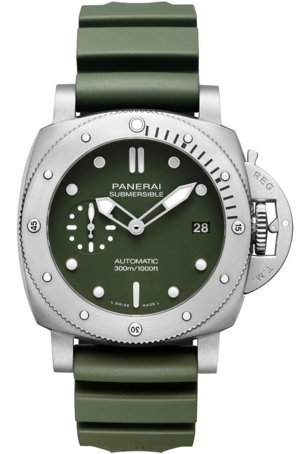 Panerai Submersible Verde Militare 42mm