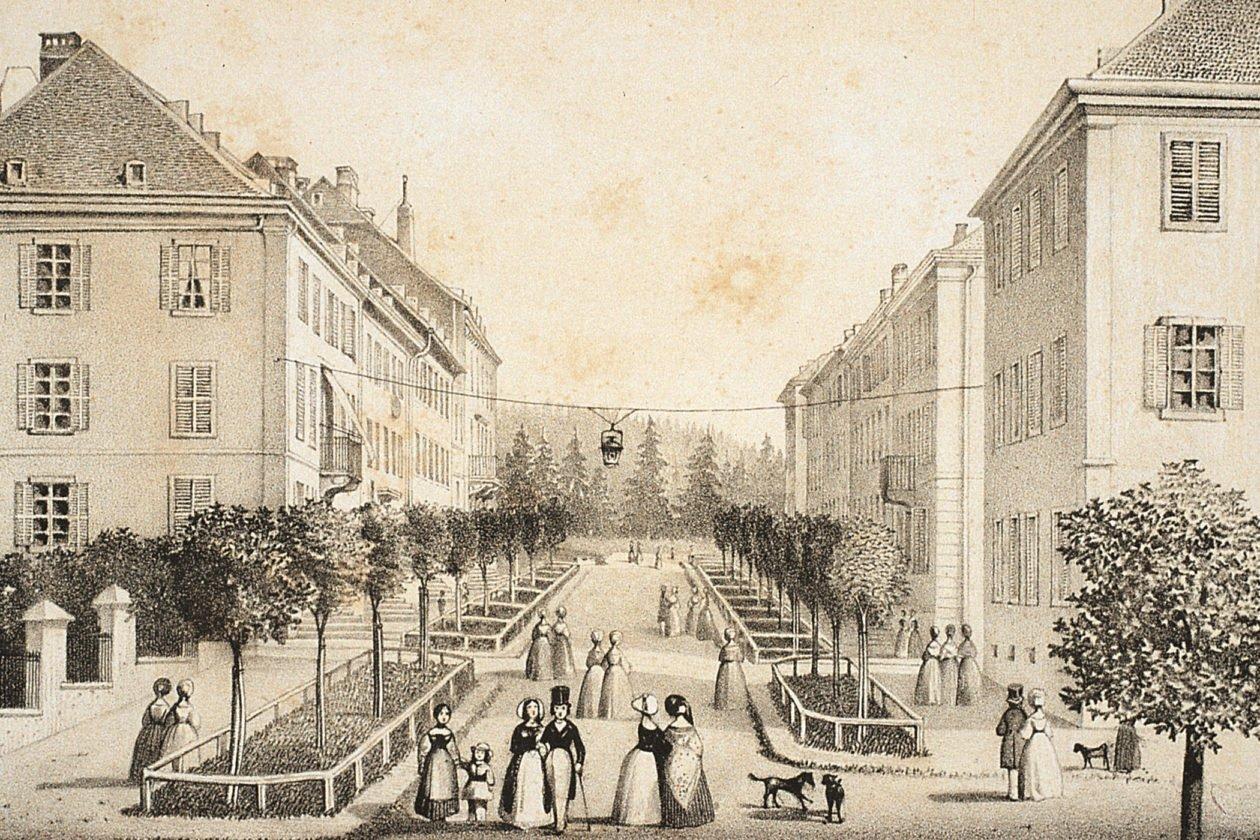 La Chaux de Fonds - 1848 rok