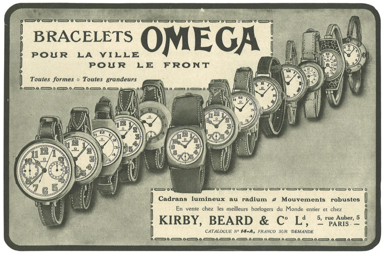 Francuska reklama z 1916 roku