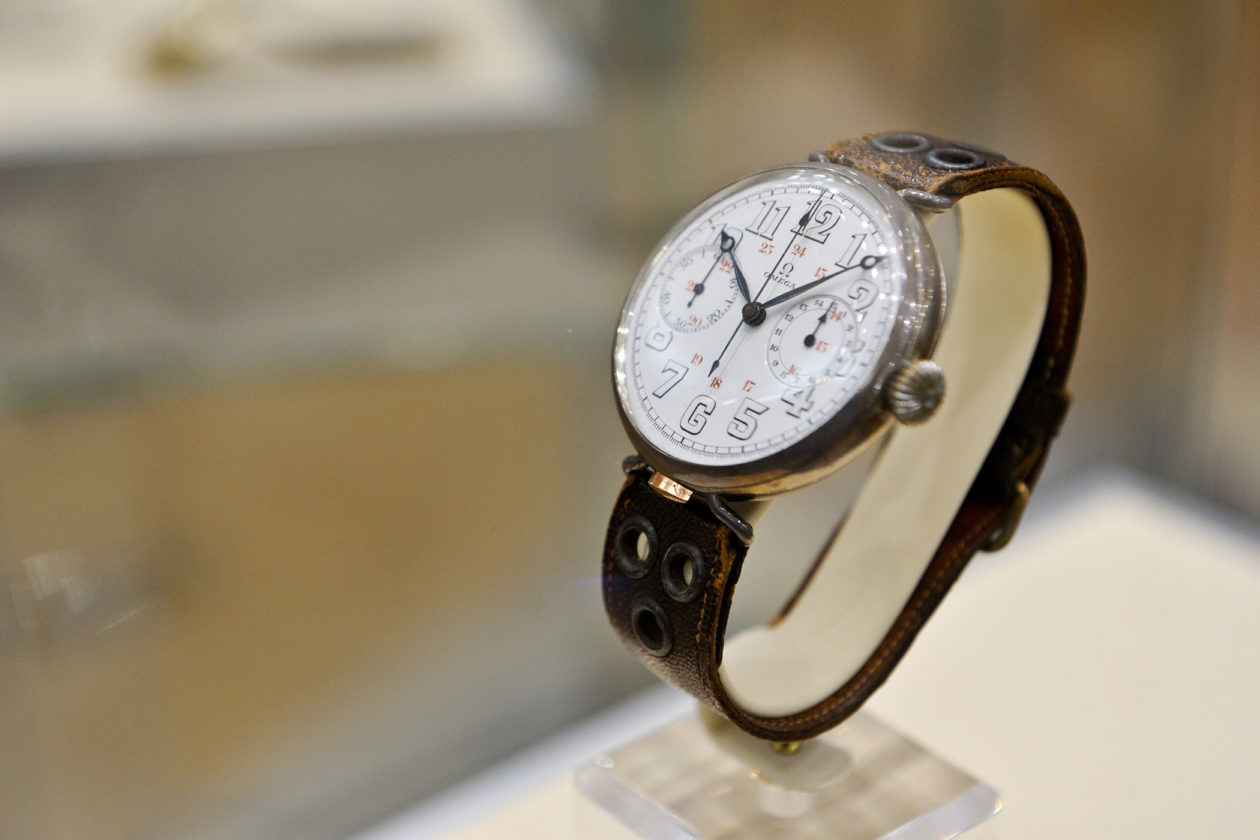 Omega zegarek pilot Laurence z Arabii