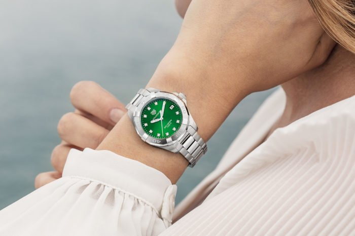 TAG Heuer Aquaracer 300M Lady Green Dial